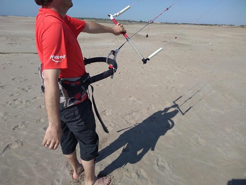 Crochet de harnais kite tandem carbone Pict-210