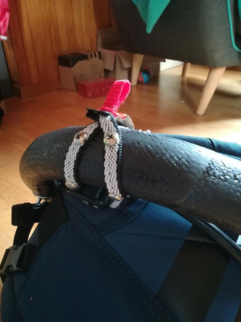 Crochet de harnais kite tandem carbone Pict-410