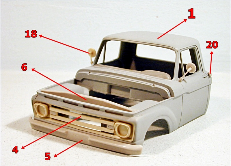1/25 scale Ford F 100 resin cab kit Ford_f14