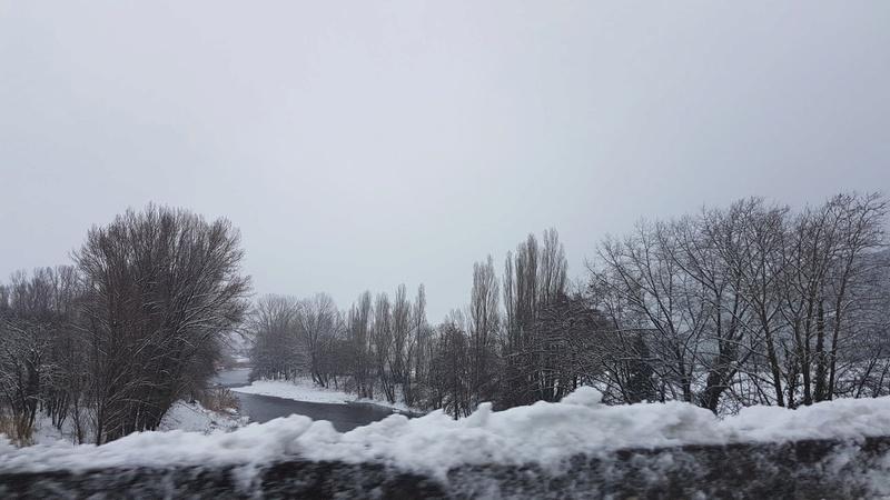 La neige même dans le sud !!! 20180310