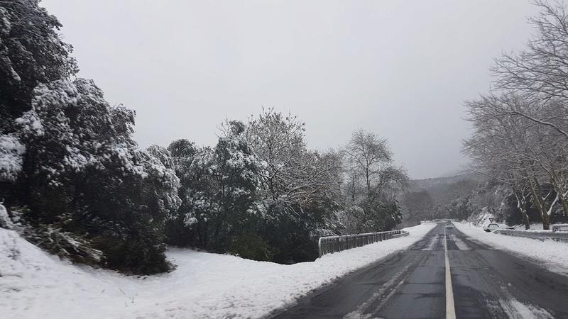 La neige même dans le sud !!! 20180311