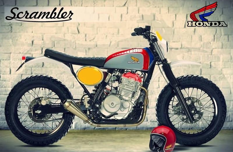Vous rouler aussi à moto ... Montrez nous vos belles  Scramb10