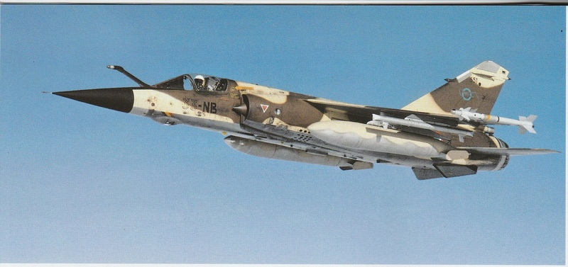 Mirage F1 CR Epervier  Spécial Hobby 1/72è Dessou10