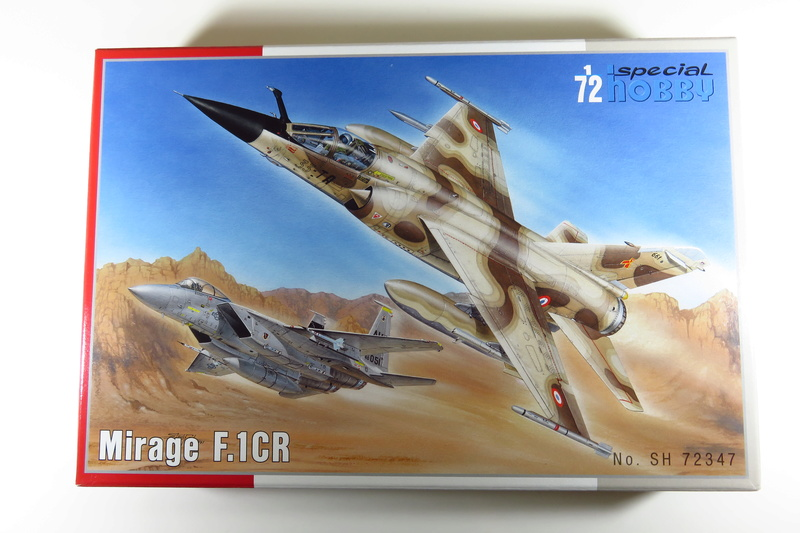 Mirage F1 CR Epervier  Spécial Hobby 1/72è Img_3512