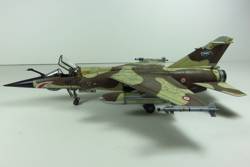 Mirage F1 CR Epervier  Spécial Hobby 1/72è Img_3719