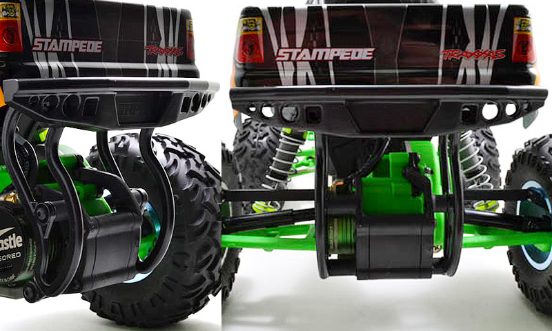 [NEW] Pare-choc arrière pour Stampede 2WD par RPM - Bumper Rear 70835 70832 Rpm_bu11