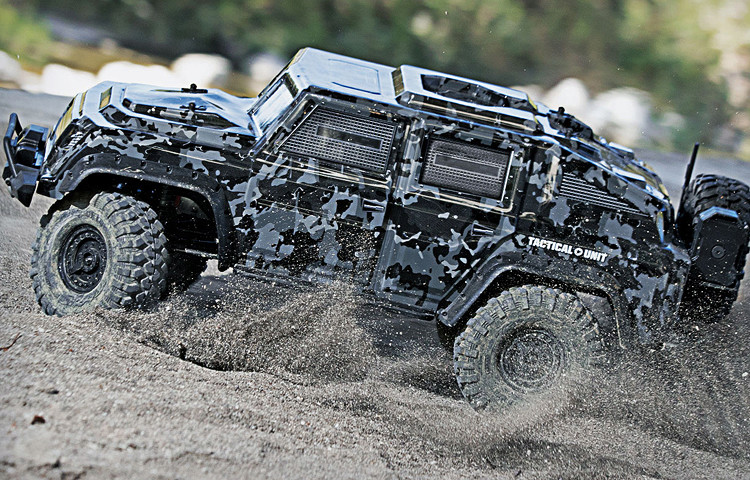 [NEW] TRX-4 Tactical Unit par Traxxas Tactic10