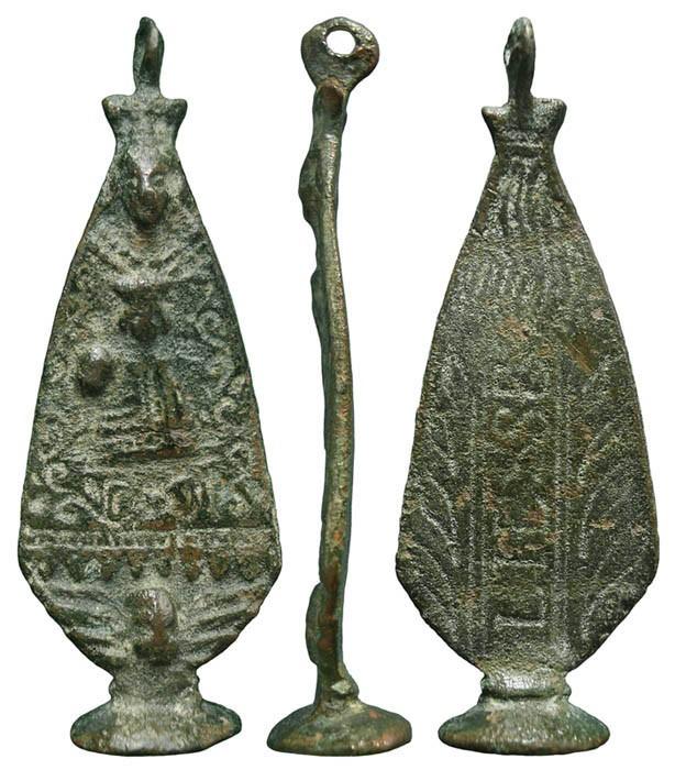 Médaille Notre-Dame de Liesse  Datation: XVII/XVIIIème Eeb9b610