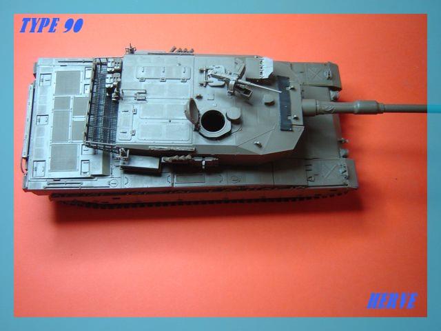 Char Japonais Type 90;Tamiya 1/32 Dsc02059