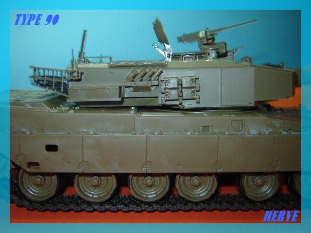 Char Japonais Type 90;Tamiya 1/32 Dsc02060