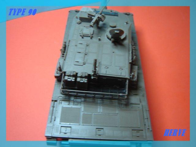 Char Japonais Type 90;Tamiya 1/32 Dsc02061