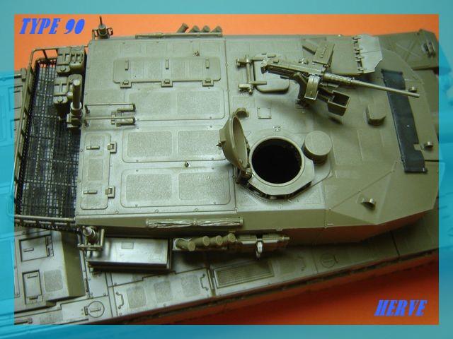 Char Japonais Type 90;Tamiya 1/32 Dsc02062