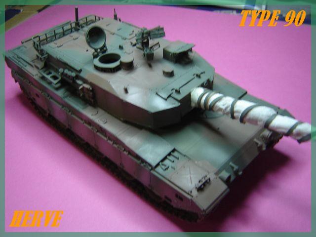 Char Japonais Type 90;Tamiya 1/32 Dsc02082