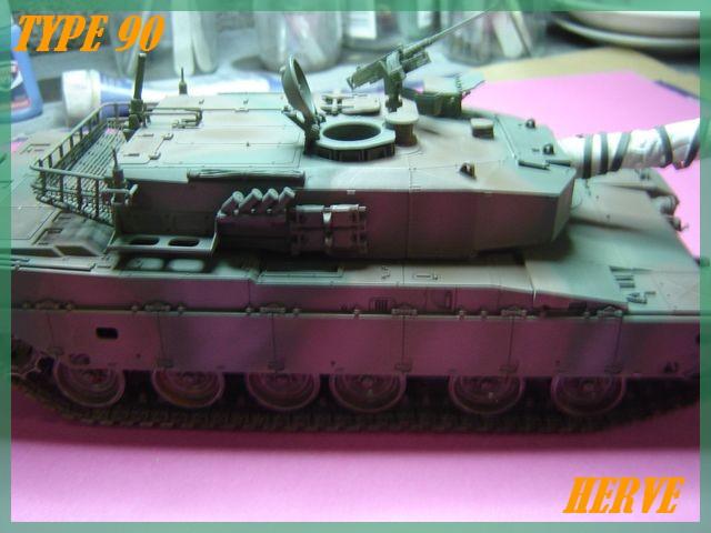 Char Japonais Type 90;Tamiya 1/32 Dsc02083