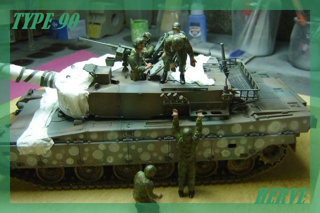 Char Japonais Type 90;Tamiya 1/32 Dsc02102