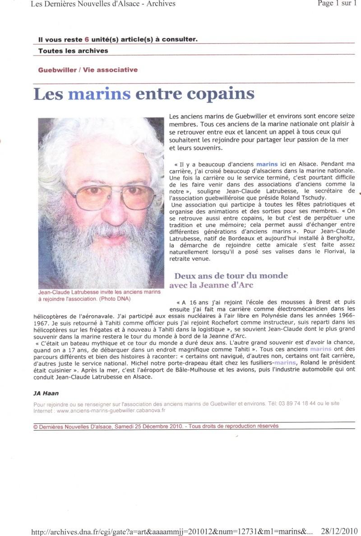 [ Associations anciens Marins ] AMICALE DES ANCIENS MARINS DE GUEBWILLER ET ENVIRONS - Page 3 28-12-11