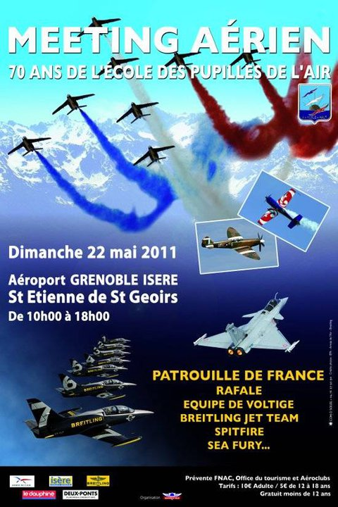Meeting Aérien des 70 ans de l'EPA à Grenoble le 22 Mai ! 18376510