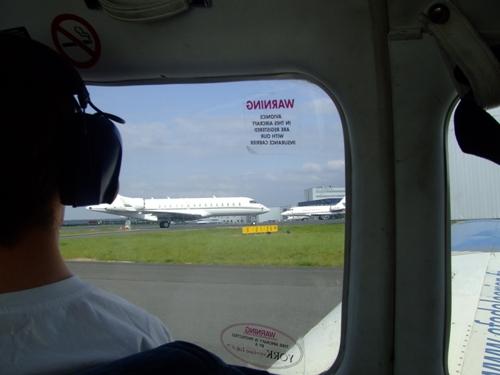 JA débarque au Bourget le 8 mai 2009 - Page 9 Dscf8716