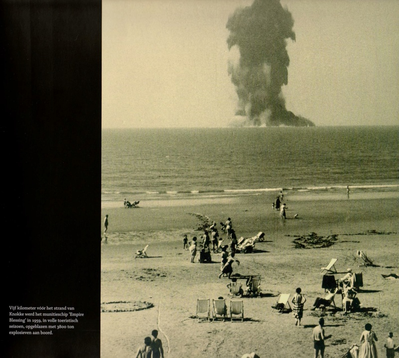 Explosion du Empire Blessing en 1959 face à Knokke Empire10