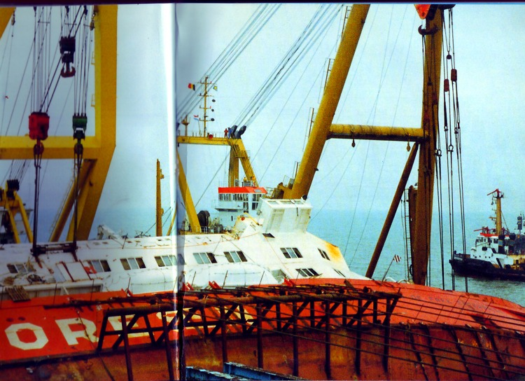 Le drame du Herald of Free Enterprise - Zeebrugge 6/03/1987 - Page 3 Herald11