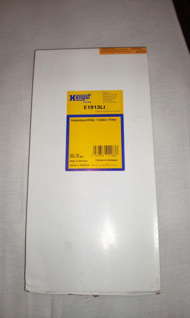 W124 300E 24v 1991 - Filtro de A/C Foto1012
