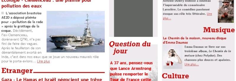 Interviews Presse et vidéo France12