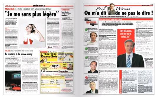 Interviews Presse et vidéo France13