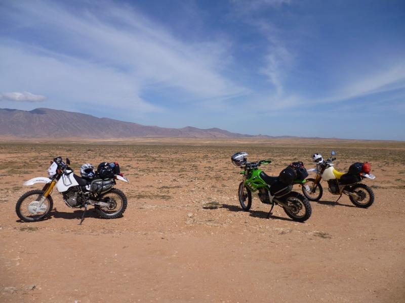 Retour d'un raid au Maroc en autonomie P1000010