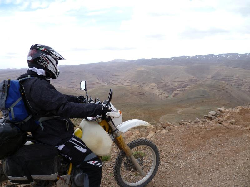 Retour d'un raid au Maroc en autonomie P1000119