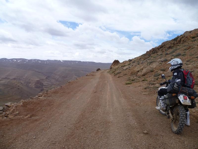 Retour d'un raid au Maroc en autonomie P1000120