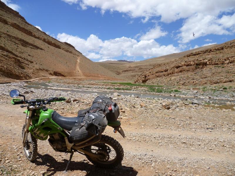 Retour d'un raid au Maroc en autonomie P1000123