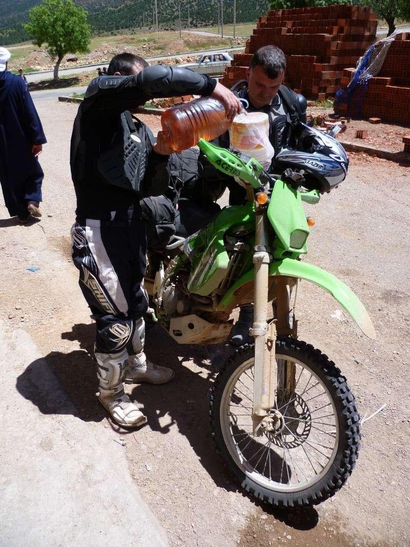 Retour d'un raid au Maroc en autonomie P1000410