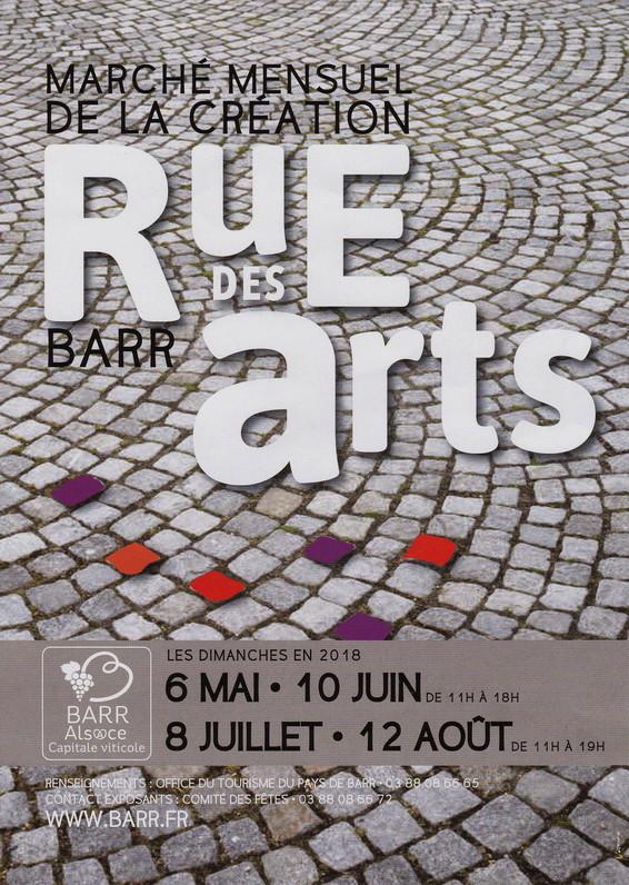 """Barr (67) , 10/06 & 08/07 & 12/08/2018 : """" Rue des Arts """" Rue_de10"""