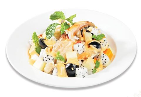 Salade Cua Thanh long Salad-10