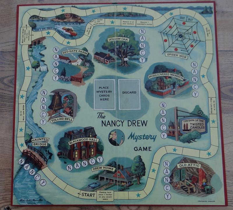 Le jeu de société: Nancy Drew Dsc03652