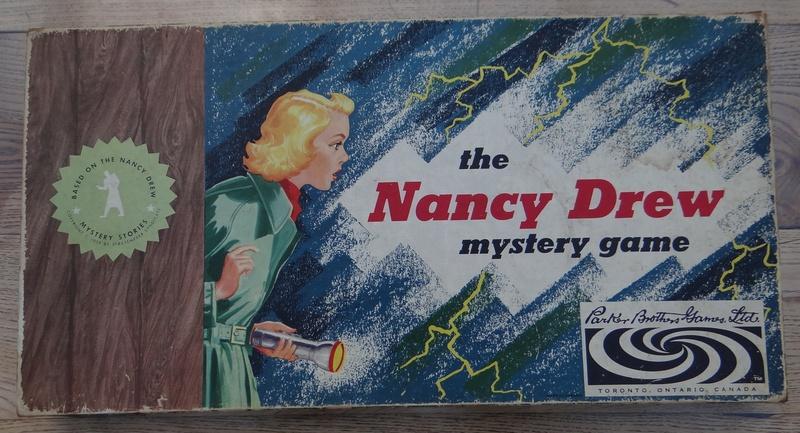 Le jeu de société: Nancy Drew Dsc03655