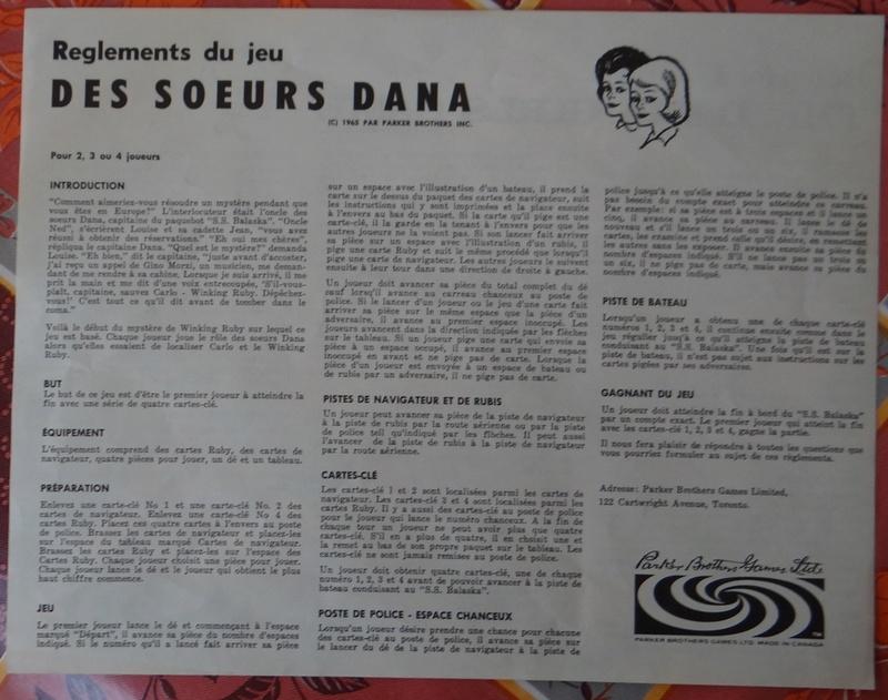 Le jeux de société: The Dana Girls Game. Dsc03812
