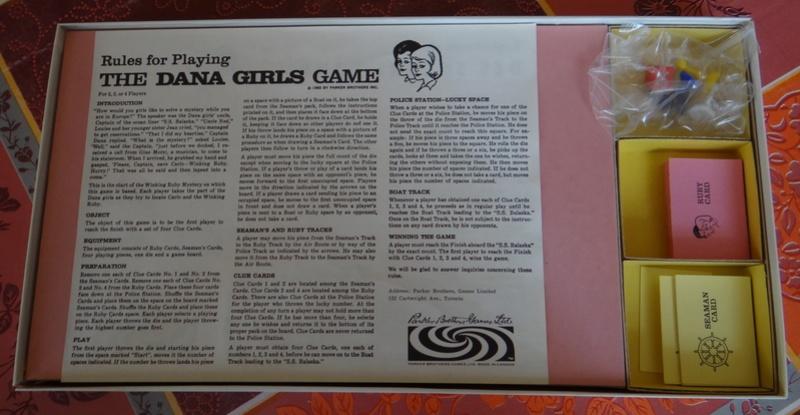 Le jeux de société: The Dana Girls Game. Dsc03814