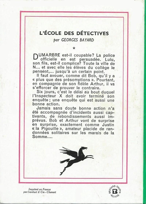 L'École des détectives Edd210