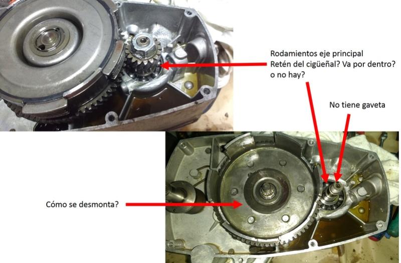 Gilera GR 1 75 Replica Motor_11