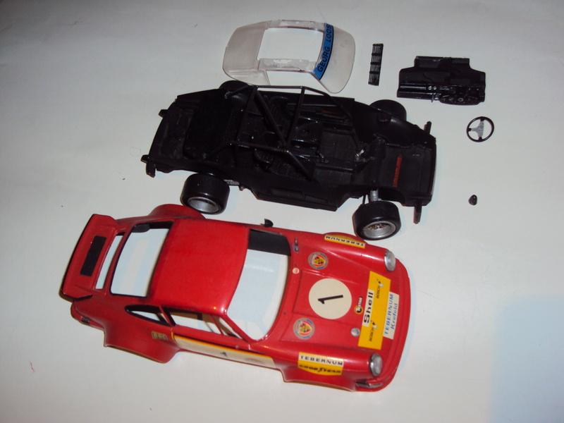 Vends 3 kits montés : Jeep Laredo, Bronco & Porsche 934 Dsc03144