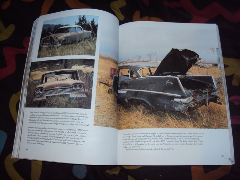"Livre américain ""Roadside Relics"" neuf  Dsc03352"