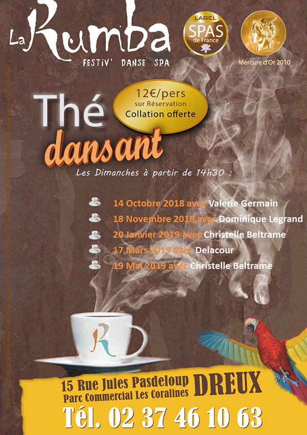 Programme des thés dansants à la Rumba  57ec1610