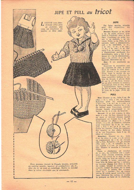 Lisette, poupée du journal (1948) Lisett10