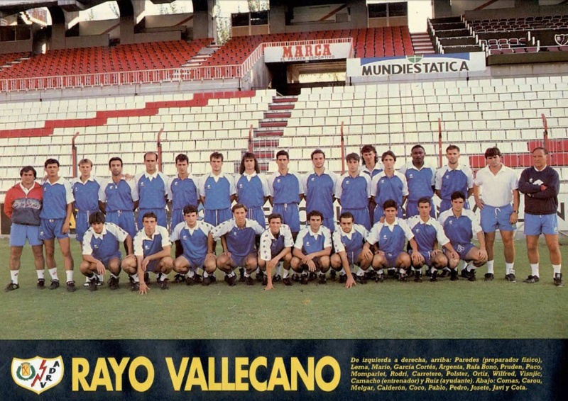 RAYO VALLECANO 92-93 Celta11