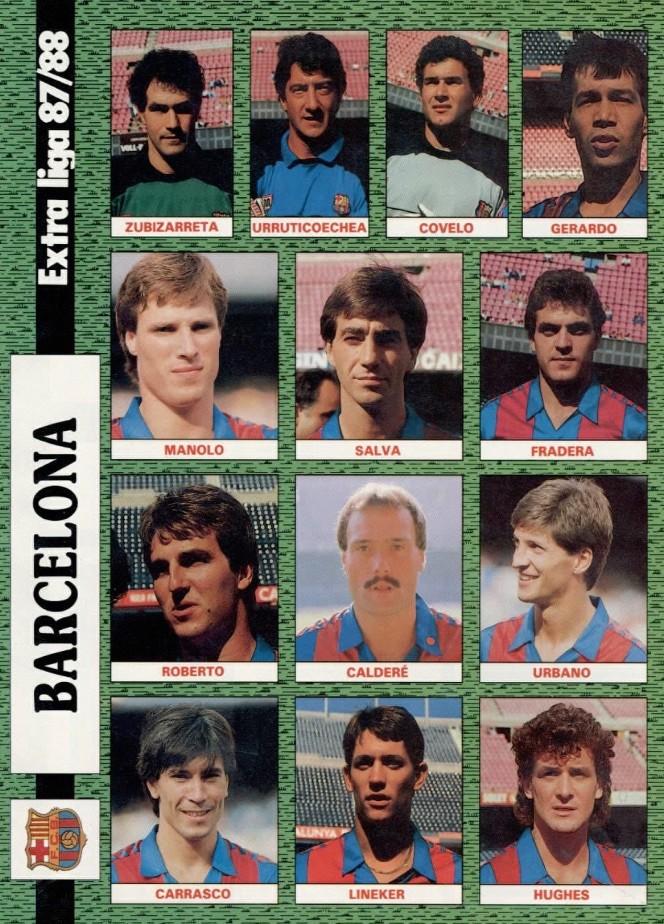FC BARCELONA 87-88 Celta24