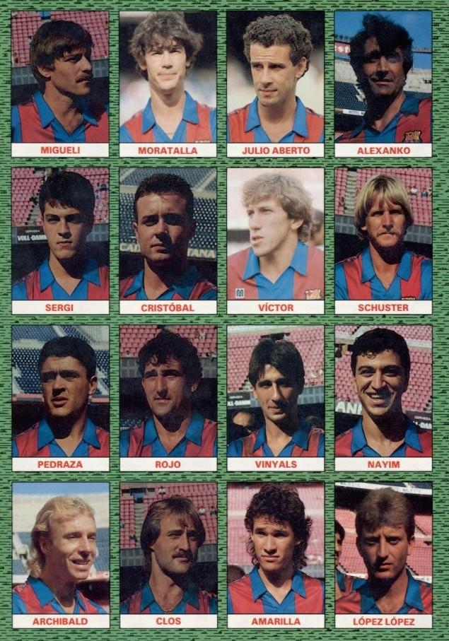 FC BARCELONA 87-88 Celta25