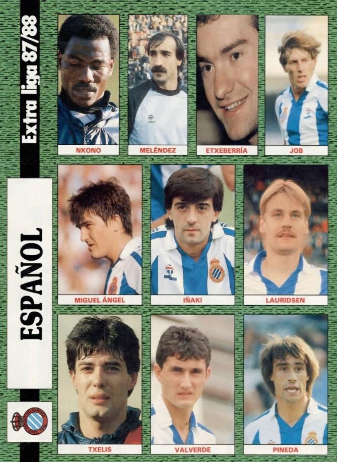 RCD ESPAÑOL 87-88 Celta26