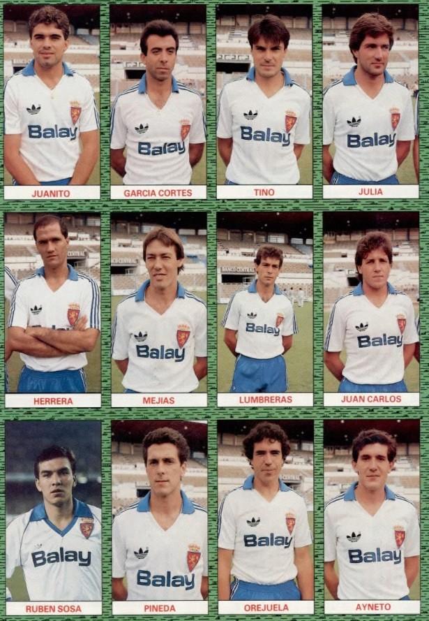 REAL ZARAGOZA 87-88 Celta30