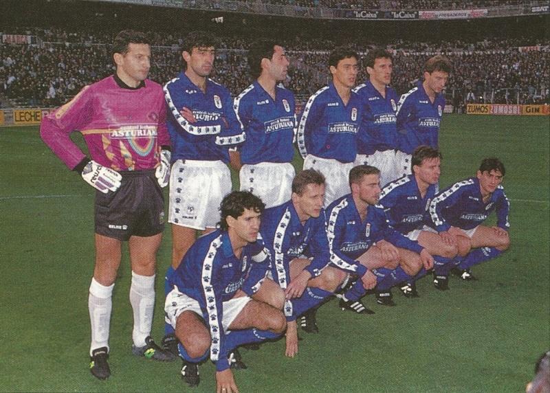 ALINEACIÓN REAL OVIEDO 1993 Extrea30